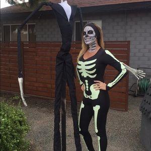 Glow in dark Halloween costume